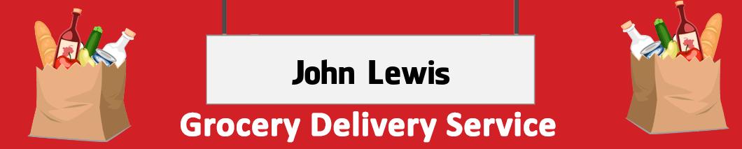 supermarket delivery John Lewis