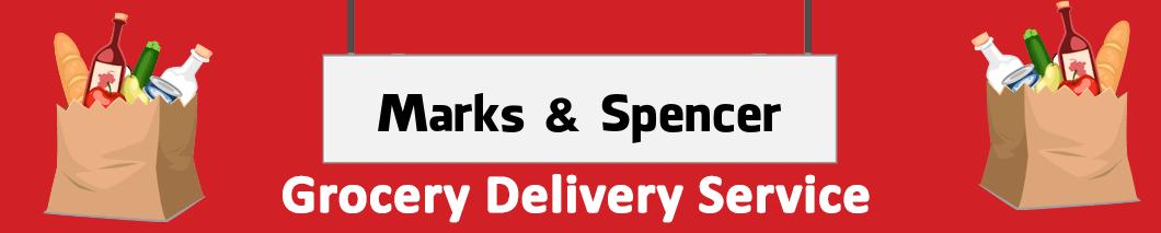 supermarket delivery Marks & Spencer