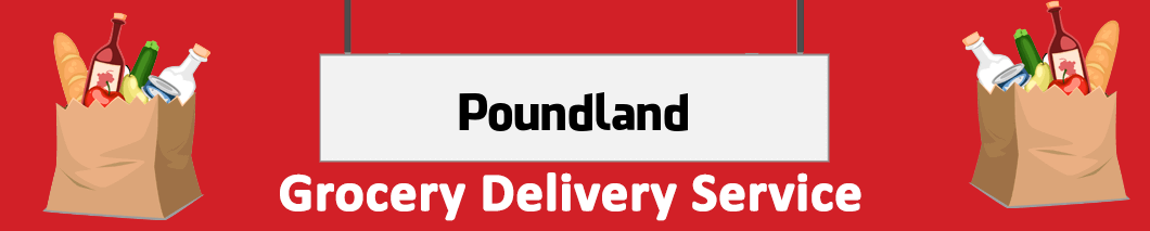 supermarket delivery Poundland