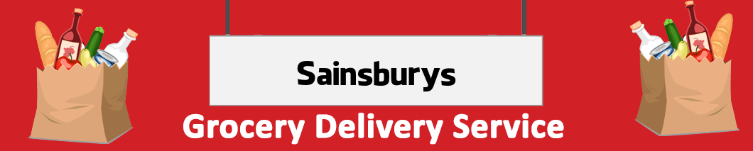 supermarket delivery Sainsbury's