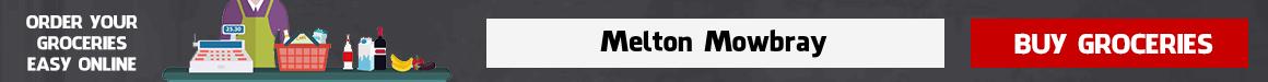 Online supermarket Melton Mowbray