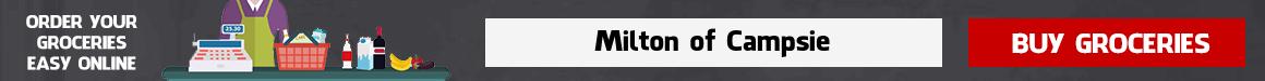 Online supermarket Milton of Campsie