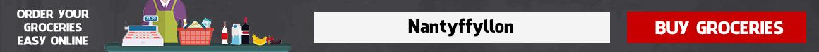 Online supermarket Nantyffyllon