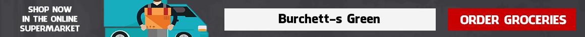 Supermarket Delivery Burchett's Green