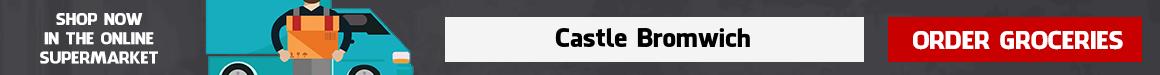 Supermarket Delivery Castle Bromwich